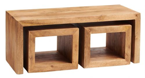 Tokyo Light Cubed John Long Coffee Table Set